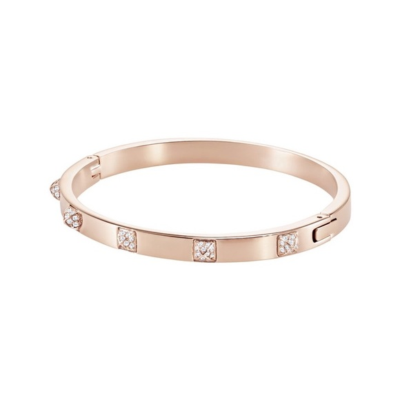 371553f2c7ff9 SWAROVSKI BRACELET TACTIC BANGLE ROSE GOLD PLATING